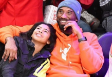 Kobe-Bryant-and-daughter-Gianna-at-a-lakers-game