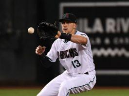 Nick Ahmed-Baseball Star for Diamondbacks