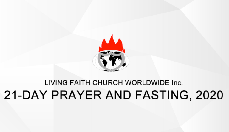 Winners Chapel Prayer Points for 21-Day Prayer and Fasting 2020