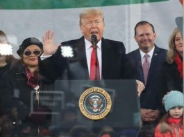 Trump At March For Life