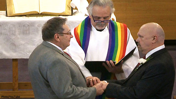 Mainline Protestant Pastors Driving Support For Same-sex Marriage