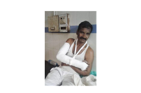 Pastor Brutally Beaten, Church Decimated As Hindu Extremists Attack Church