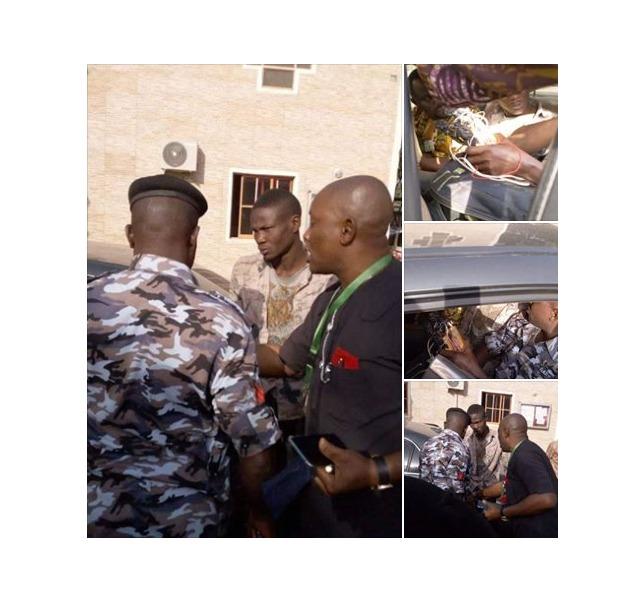 Suicide Bomber Arrested In Living Faith Church Kaduna (Photos)