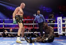 Tyson Fury Praises Jesus After Winning World Heavyweight Champion Deontay Wilder