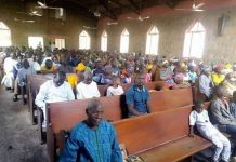 Christians Defy Boko Haram Attack, Turn Out En Masse To Worship In Same Churches Burnt Down By The Islamist Terrorists