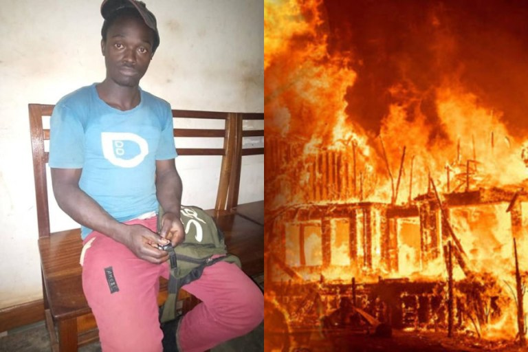 Man Sets 3 Churches Ablaze Because He Is Still Poor Despite Their Prosperity Preachings