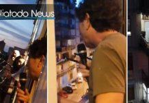 Pastor Carmelo Cancilla Preaches From His Window Amidst quarantine in Italy