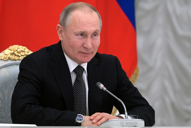 Putin Seeks To Add 'Russians' Faith In God' To Constitution, Ban Same-sex Marriage
