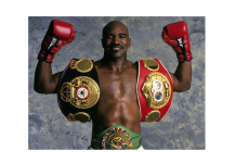 World Heavyweight Boxing Champion Evander Holyfield