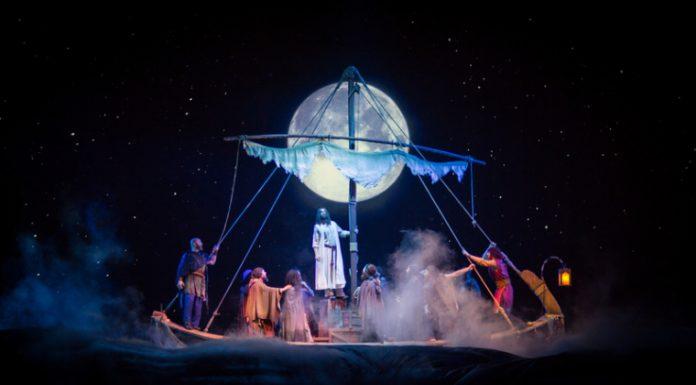 """Jesus"" at Sight & Sound's theater in Lancaster, Pennsylvania."
