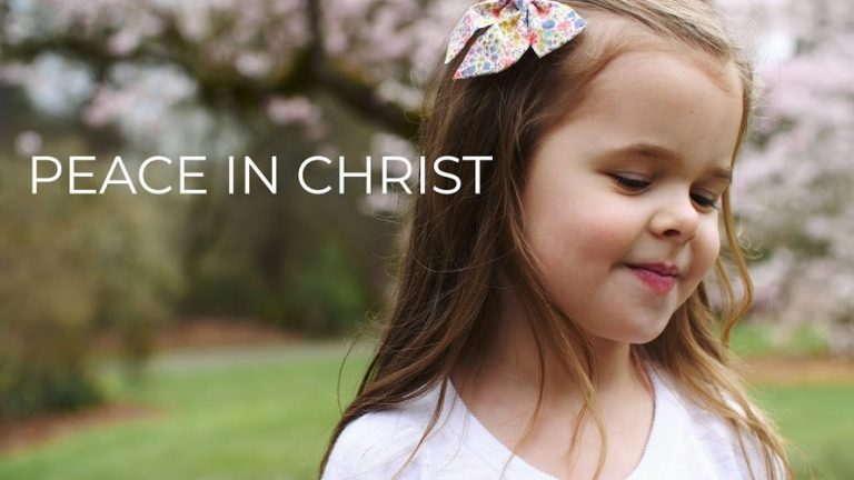 Amazing: 5-Year-Old And Her Dad Sing 'Peace In Christ'