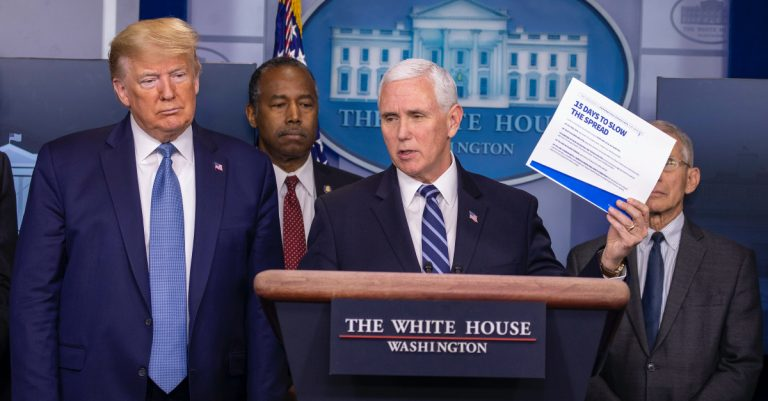 COVID-19: Trump, Pence Thank Churches for Suspending Services