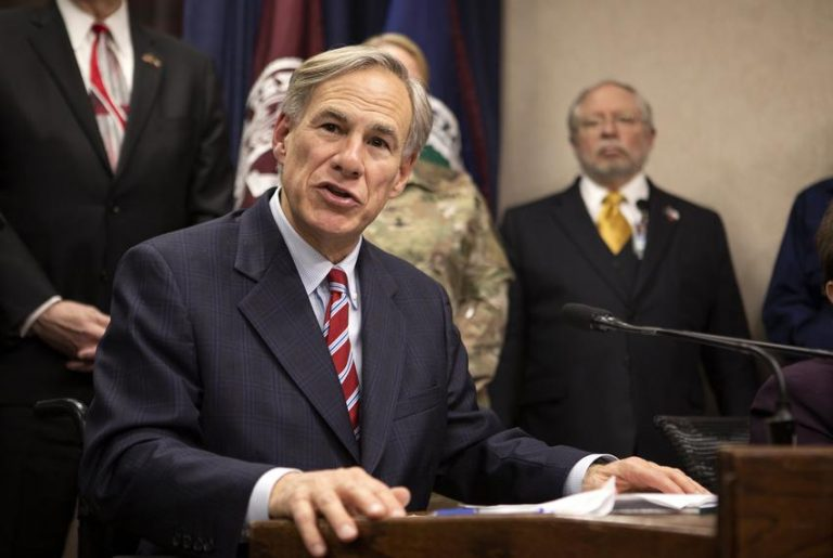 'Jesus Is the Support' In Fight Against COVID-19, Texas Gov. Greg Abbott Says
