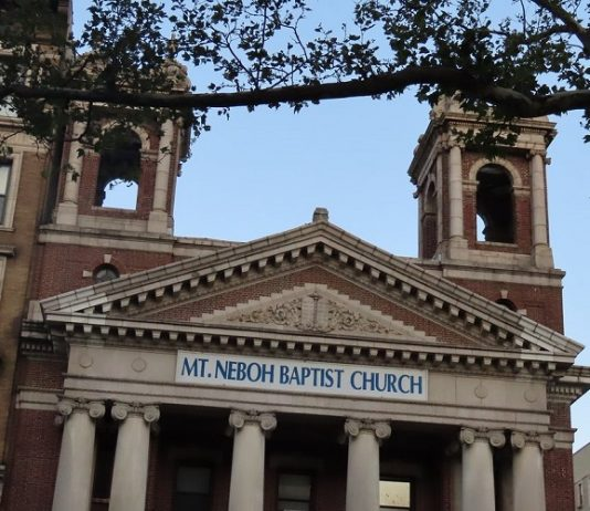Mount Neboh Baptist Church in Manhattan, N.Y.