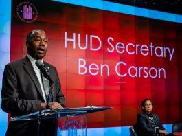 Housing and Urban Development Secretary Ben Carson.