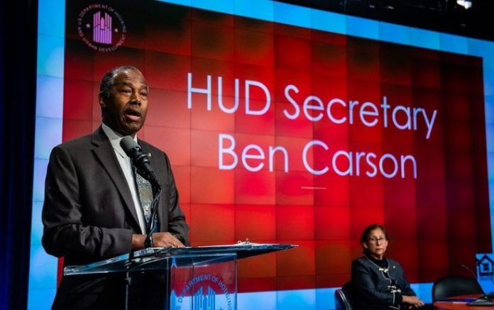 Housing and Urban Development Secretary Ben Carson.