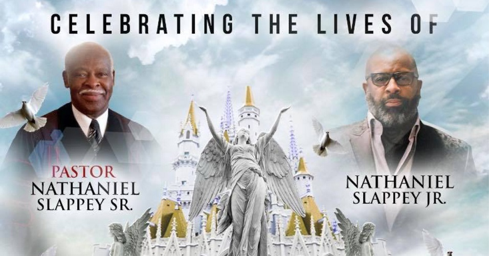The church released information for the funeral of the late Rev. Nathaniel Slappey Sr. and his son, Nathaniel Slappey Jr.