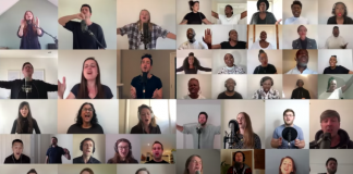 """The UK Blessing — People from churches throughout the U.K. sing """"The Blessing,"""" May 3, 2020"""
