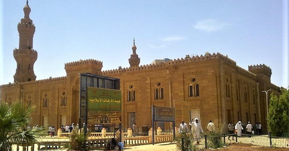 Khartoum Mosque in Khartoum, Sudan.