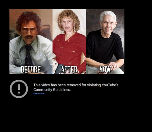 YouTube removes video testimony of former transgender