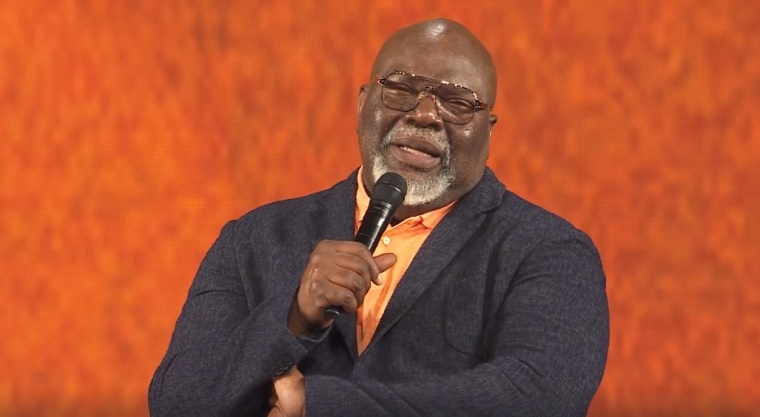 Bishop T.D. Jakes, Senior pastor of The Potter's House in Dallas, Texas.