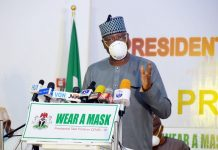 Secretary to the Government of the Federation (SGF), Boss Mustapha