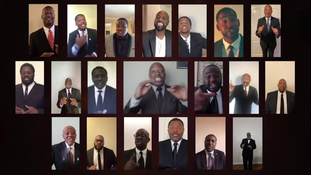 NFL Players Choir 2020 Performance For The American Cancer Society Share The Light Virtual Event, Jul 20, 2020