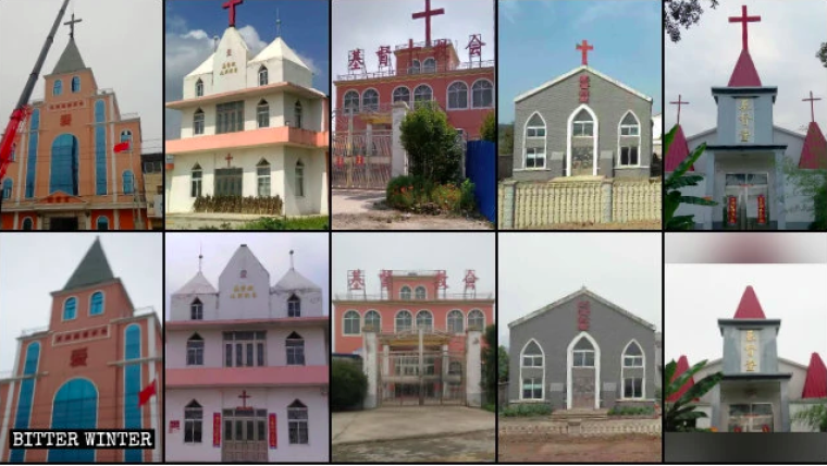 In the first half of 2020, hundreds of crosses were removed from churches the eastern province of Anhui, which has the second-largest Christian population in China.