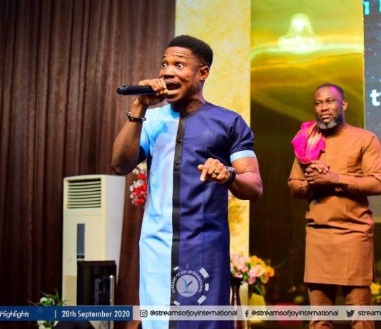 Streams of Joy International Pastor Jerry Eze with Asst. Pastor Chibunna Ariwodo