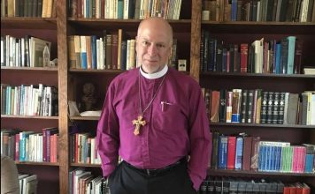 Bishop William Love of the Episcopal Diocese of Albany