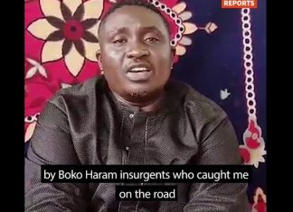 Missing Nigerian Pastor Polycap Zango, Appears In New Boko Haram Video, Asks FG, Church To Rescue Him and Others