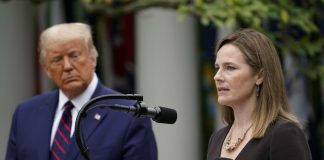 U.S. Supreme Court nominee Amy Coney Barrett