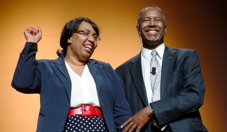 Dr. Ben Carson and Wife Candy Carson