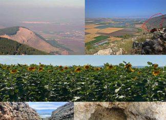 Biblical Mount Gilboa Today